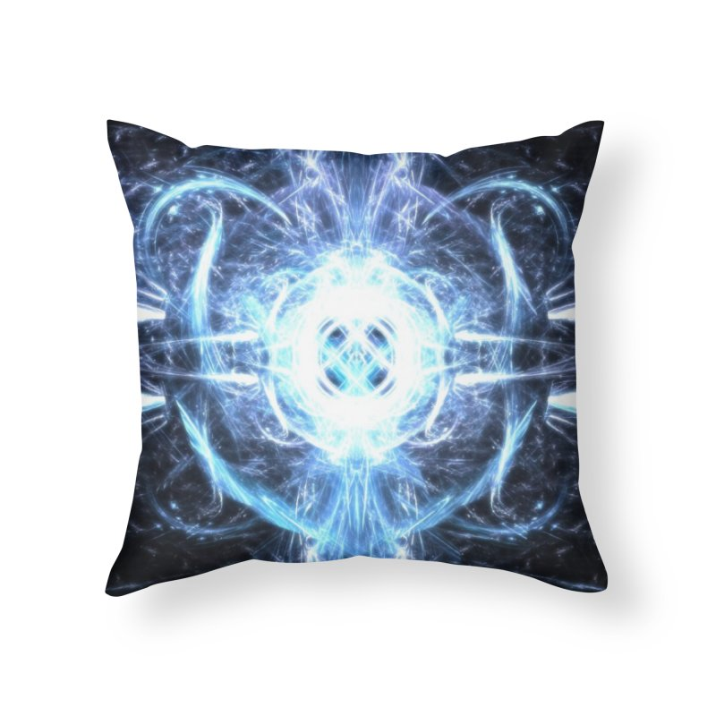 Frostkeeper Home Throw Pillow by pixeldelta's Artist Shop