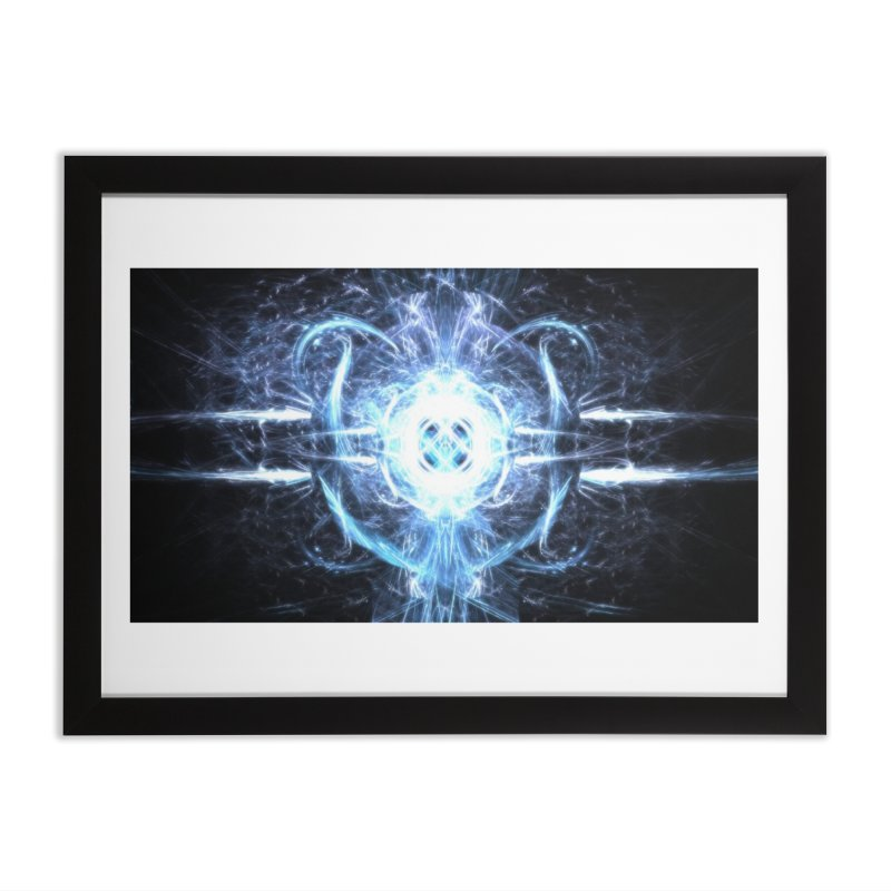 Frostkeeper Home Framed Fine Art Print by pixeldelta's Artist Shop