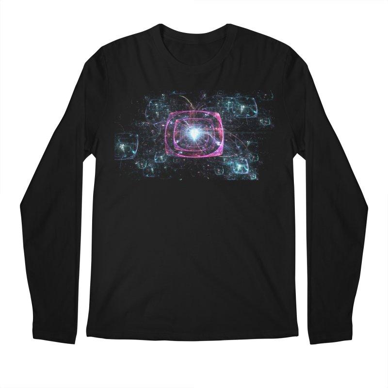 Funky gloom Men's Regular Longsleeve T-Shirt by pixeldelta's Artist Shop