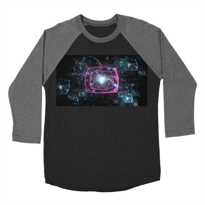 Funky gloom Men's Baseball Triblend T-Shirt by pixeldelta's Artist Shop