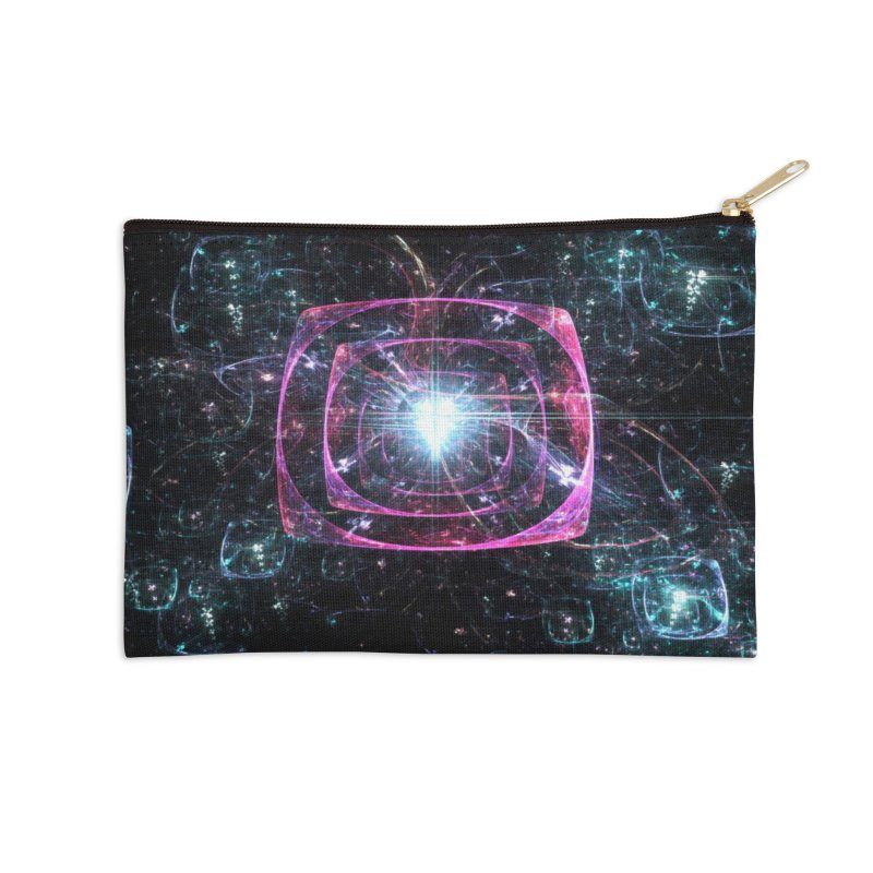 Funky gloom Accessories Zip Pouch by pixeldelta's Artist Shop