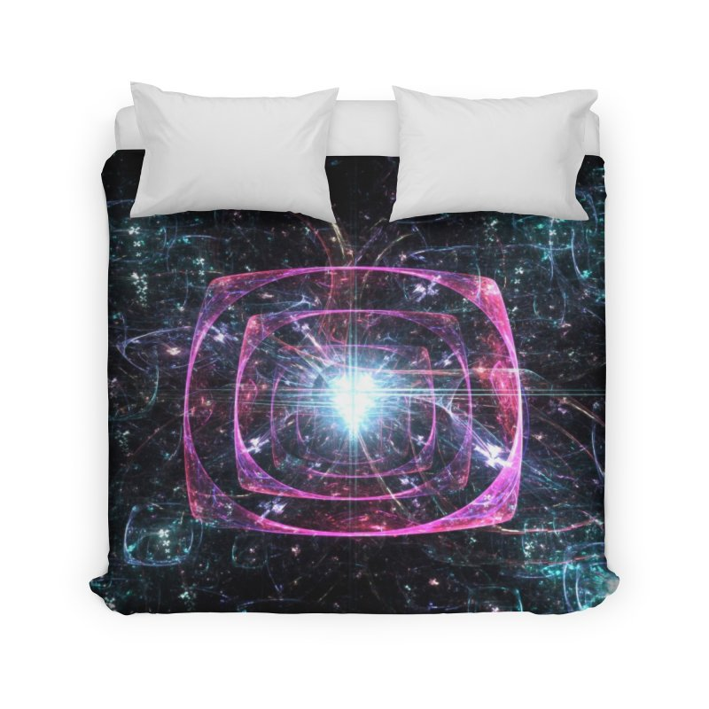 Funky gloom Home Duvet by pixeldelta's Artist Shop