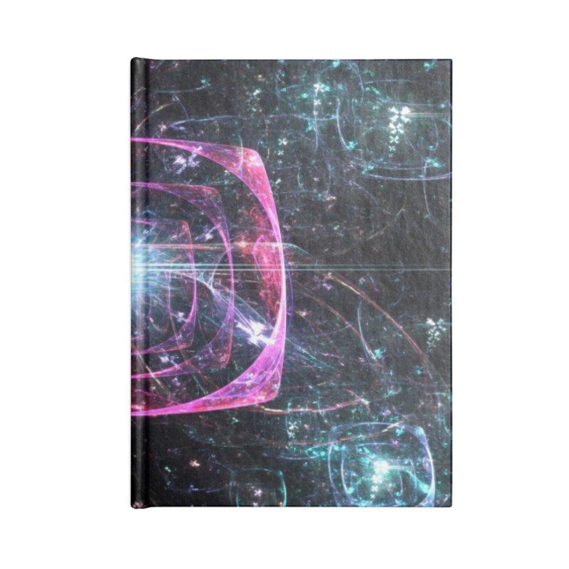 Funky gloom Accessories Notebook by pixeldelta's Artist Shop