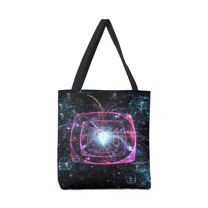 Funky gloom Accessories Bag by pixeldelta's Artist Shop