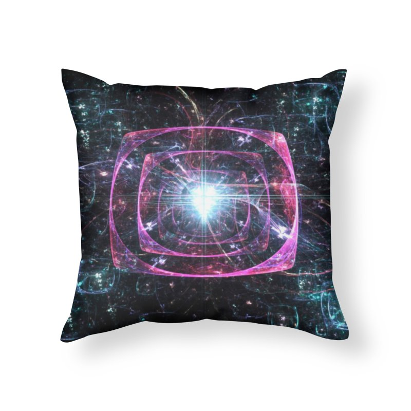 Funky gloom Home Throw Pillow by pixeldelta's Artist Shop
