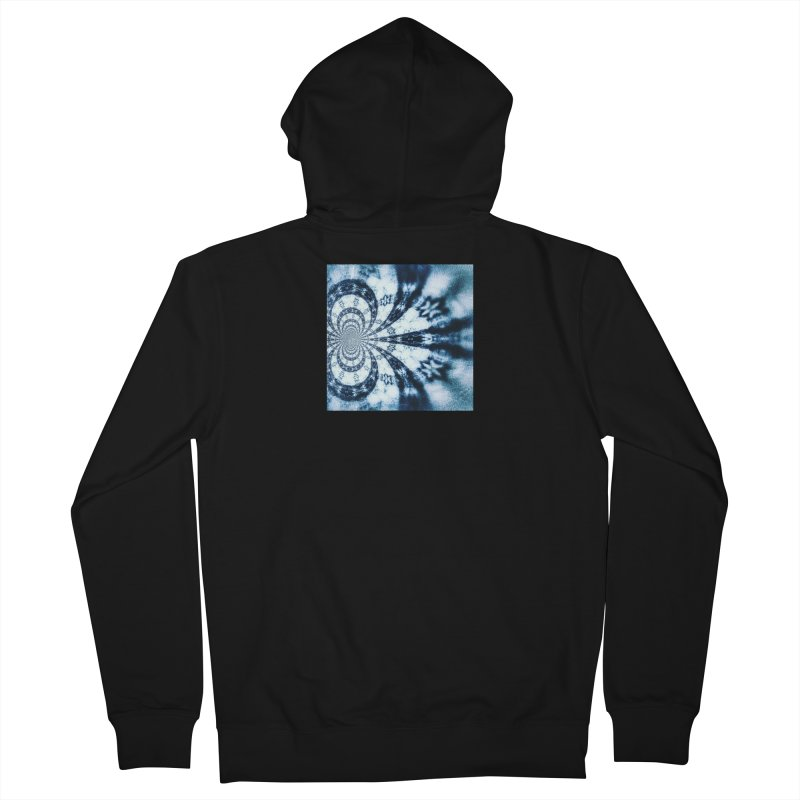 abstract square - art 1 Men's Zip-Up Hoody by pixeldelta's Artist Shop