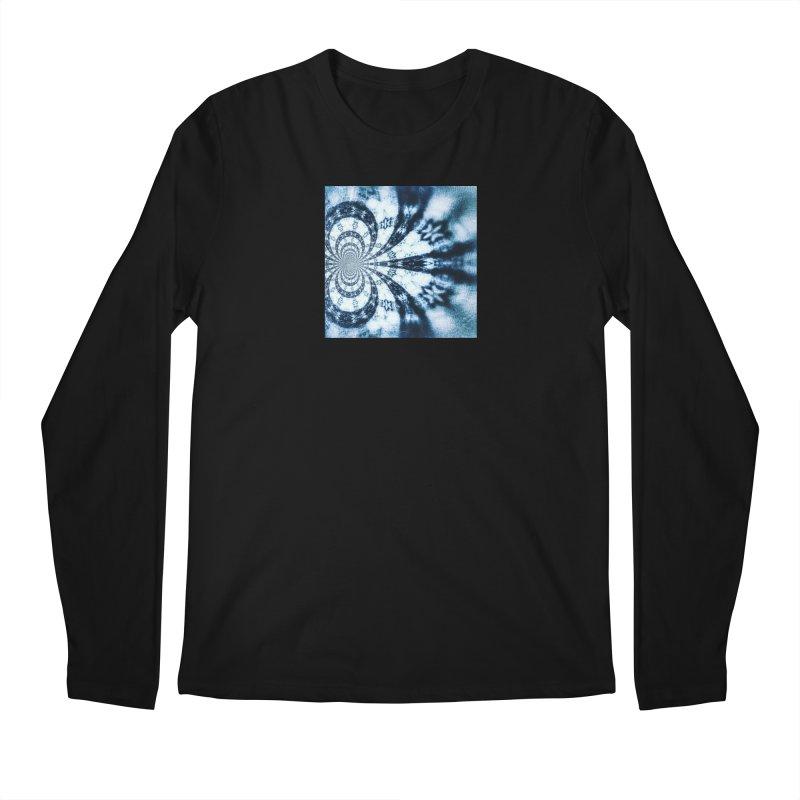 abstract square - art 1 Men's Regular Longsleeve T-Shirt by pixeldelta's Artist Shop