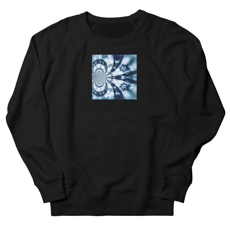 abstract square - art 1 Women's French Terry Sweatshirt by pixeldelta's Artist Shop