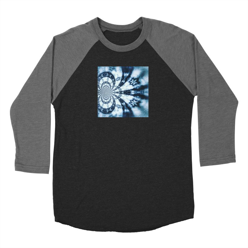 abstract square - art 1 Men's Baseball Triblend T-Shirt by pixeldelta's Artist Shop