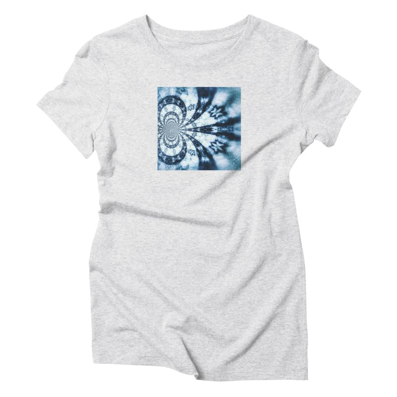 abstract square - art 1 Women's Triblend T-Shirt by pixeldelta's Artist Shop