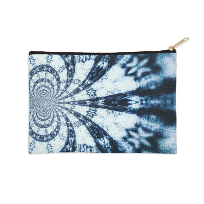 abstract square - art 1 Accessories Zip Pouch by pixeldelta's Artist Shop