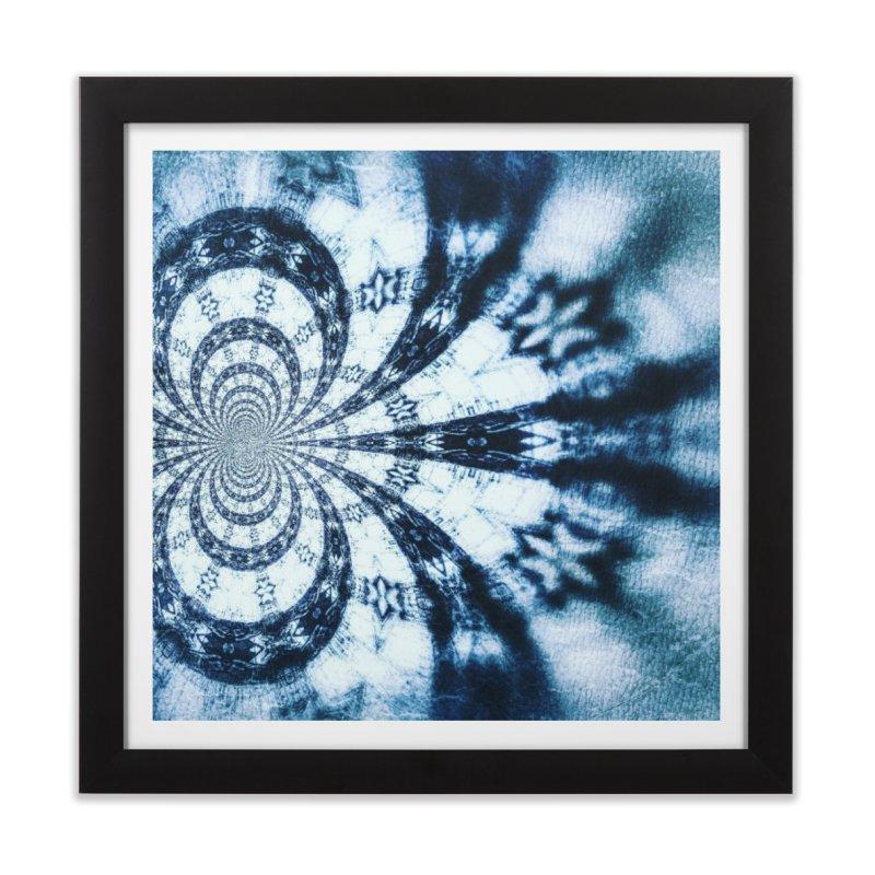 abstract square - art 1 Home Framed Fine Art Print by pixeldelta's Artist Shop