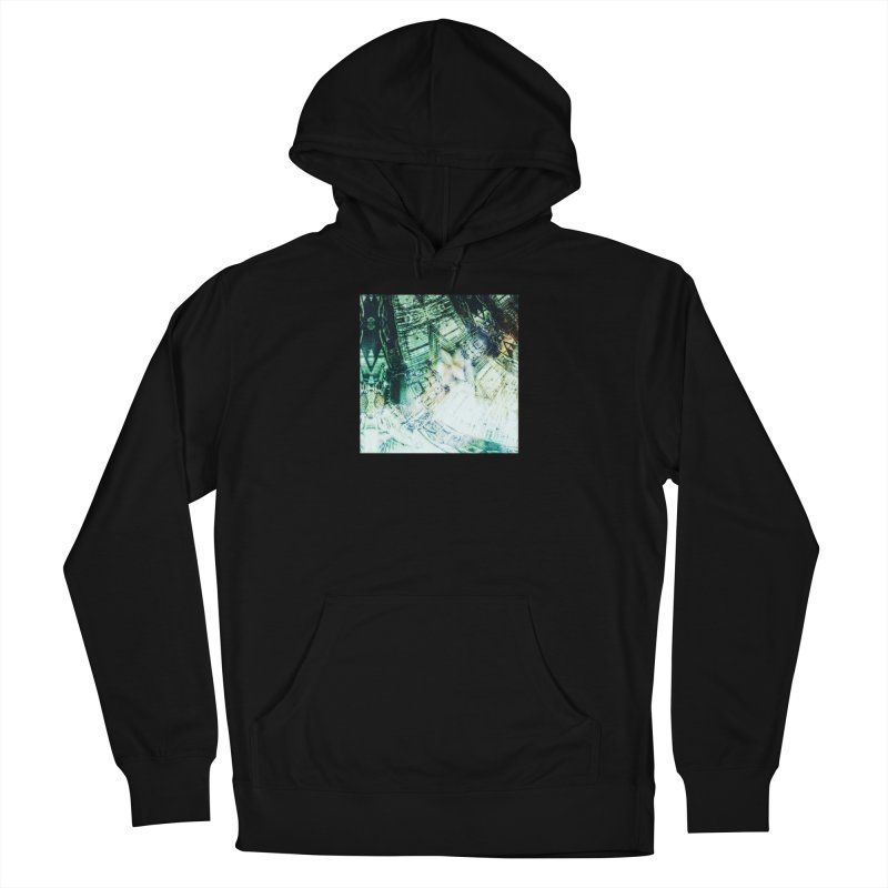 abstract square - art 2 Men's French Terry Pullover Hoody by pixeldelta's Artist Shop