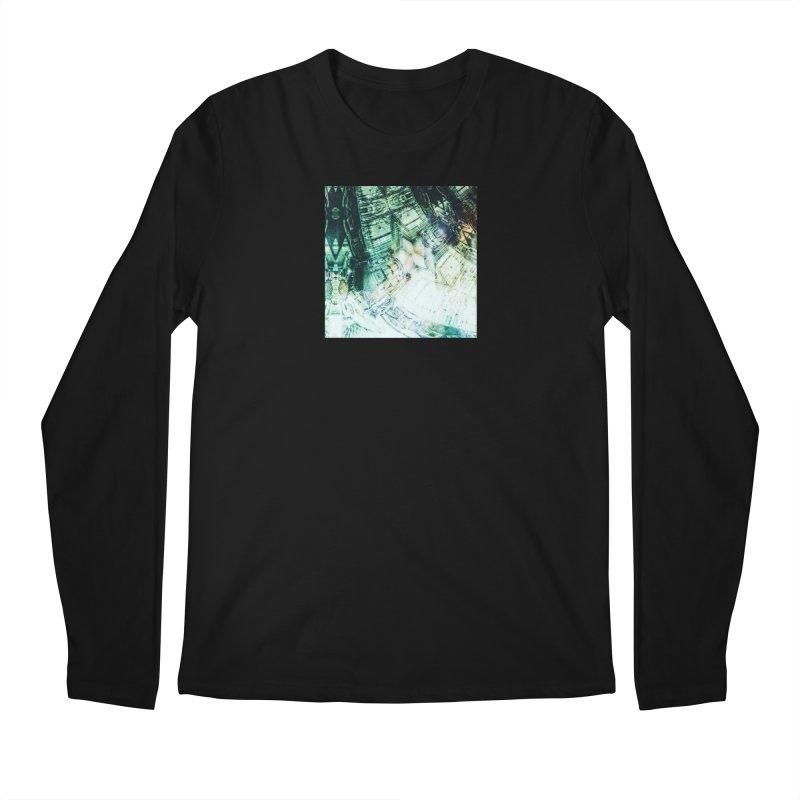 abstract square - art 2 Men's Longsleeve T-Shirt by pixeldelta's Artist Shop