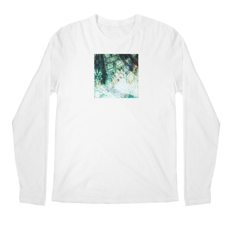 abstract square - art 2 Men's Regular Longsleeve T-Shirt by pixeldelta's Artist Shop