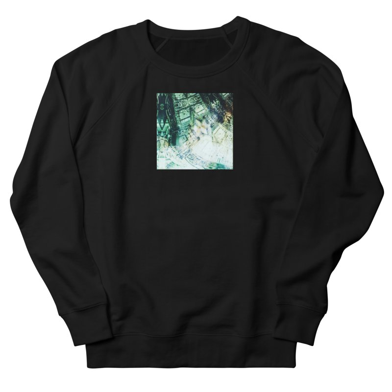 abstract square - art 2 Women's French Terry Sweatshirt by pixeldelta's Artist Shop