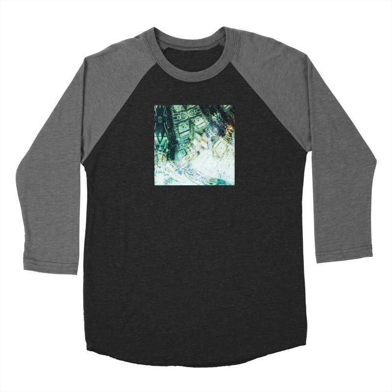 abstract square - art 2 Women's Baseball Triblend T-Shirt by pixeldelta's Artist Shop