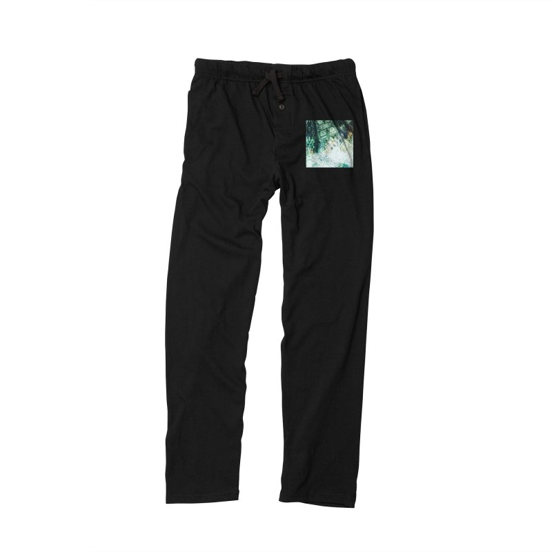 abstract square - art 2 Women's Lounge Pants by pixeldelta's Artist Shop