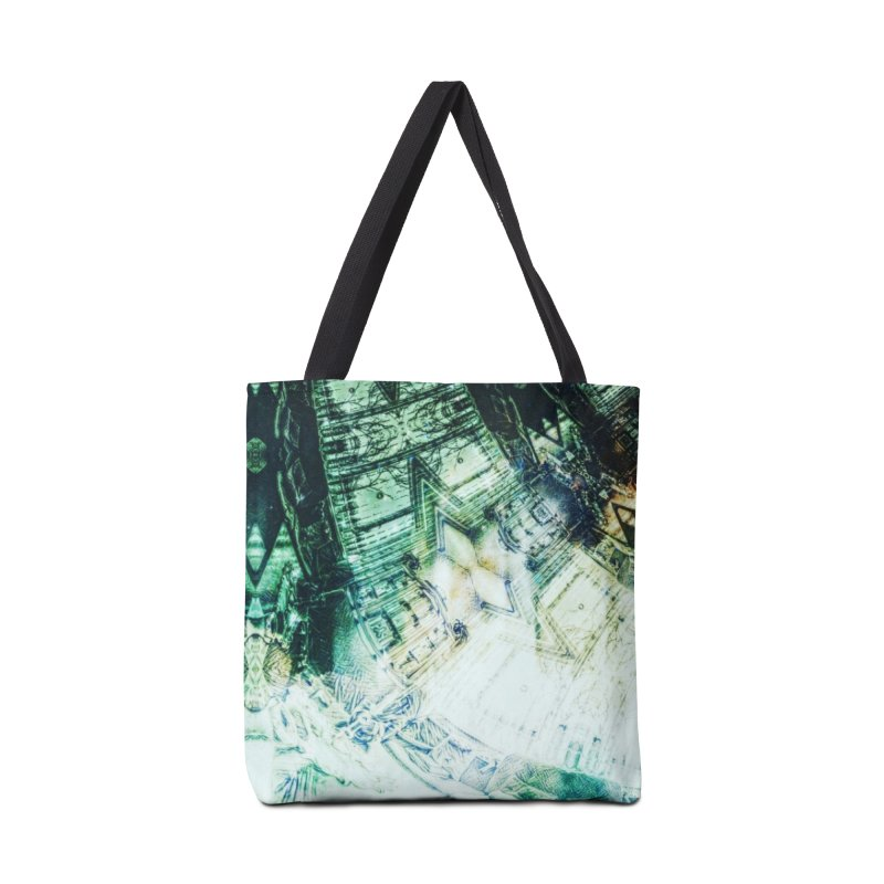 abstract square - art 2 Accessories Bag by pixeldelta's Artist Shop