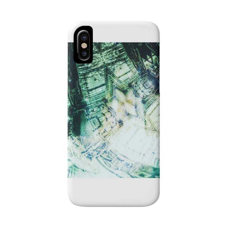 abstract square - art 2 Accessories Phone Case by pixeldelta's Artist Shop