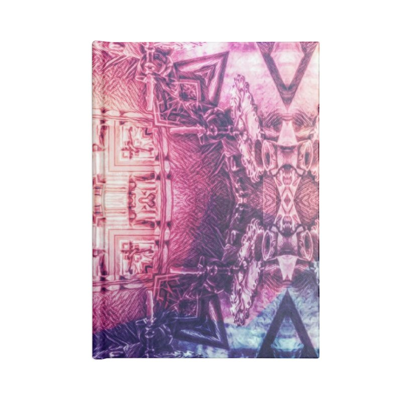 abstract square - art 3 Accessories Notebook by pixeldelta's Artist Shop