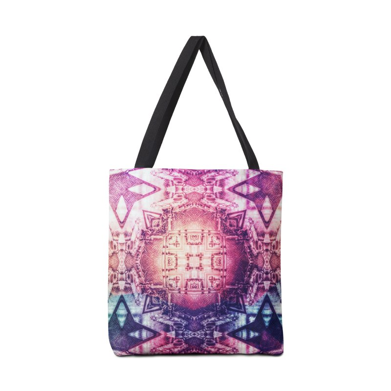 abstract square - art 3 Accessories Bag by pixeldelta's Artist Shop