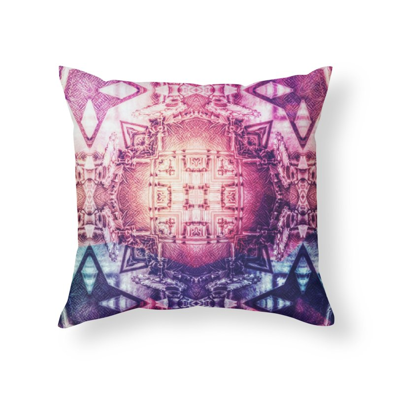 abstract square - art 3 Home Throw Pillow by pixeldelta's Artist Shop