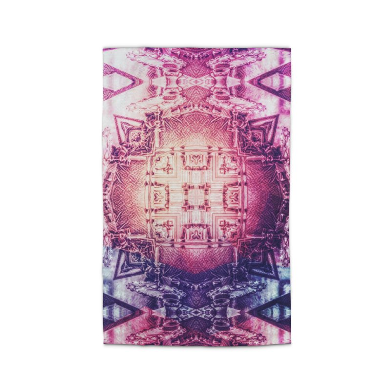 abstract square - art 3 Home Rug by pixeldelta's Artist Shop