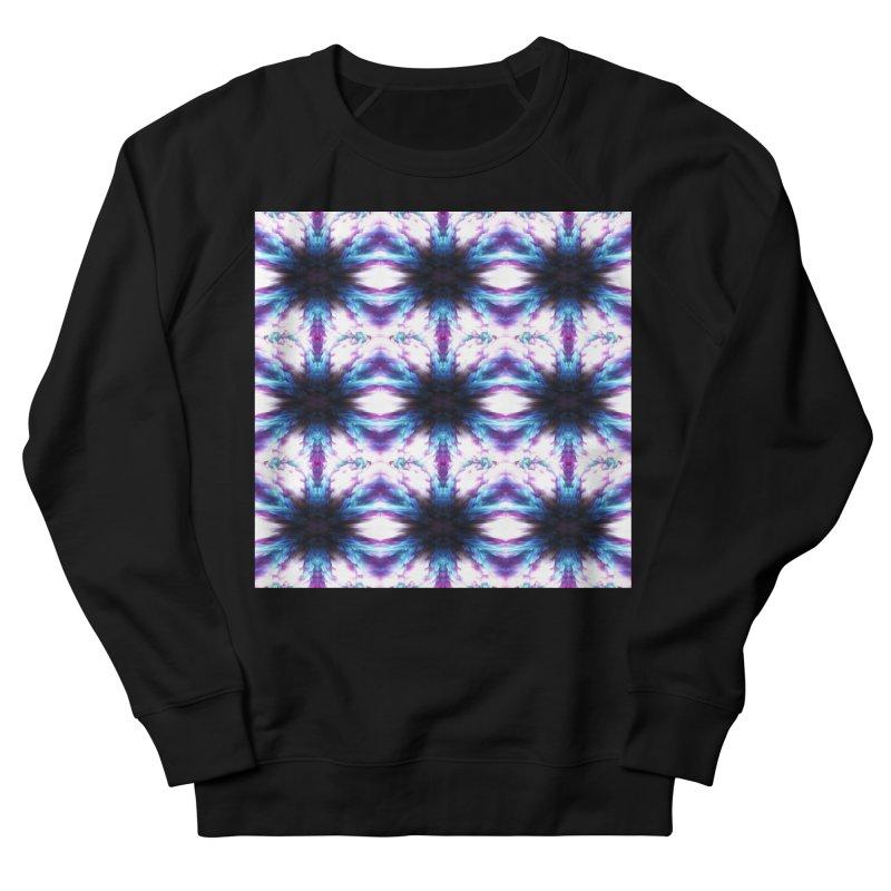 Crystals Women's French Terry Sweatshirt by pixeldelta's Artist Shop