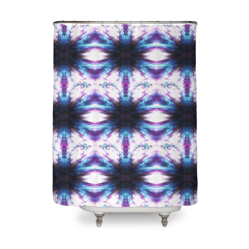 Crystals Home Shower Curtain by pixeldelta's Artist Shop