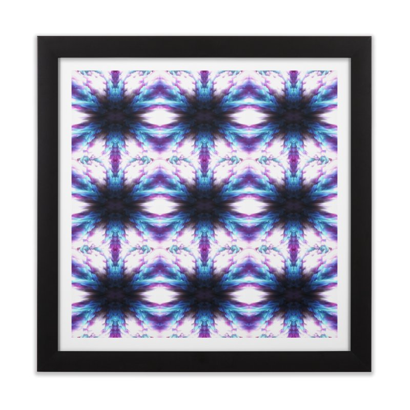 Crystals Home Framed Fine Art Print by pixeldelta's Artist Shop