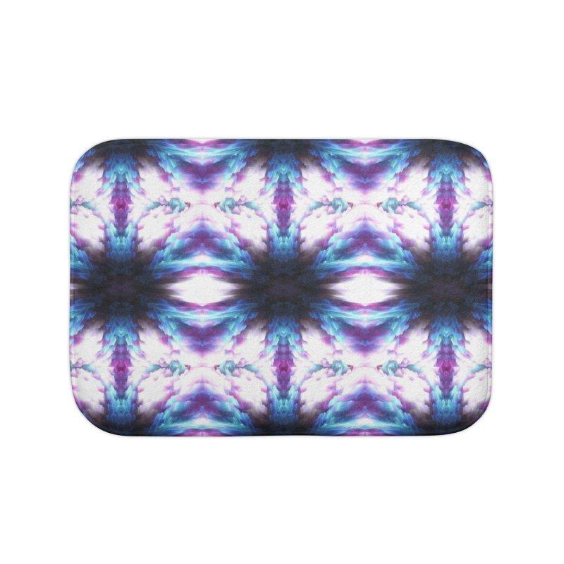 Crystals Home Bath Mat by pixeldelta's Artist Shop
