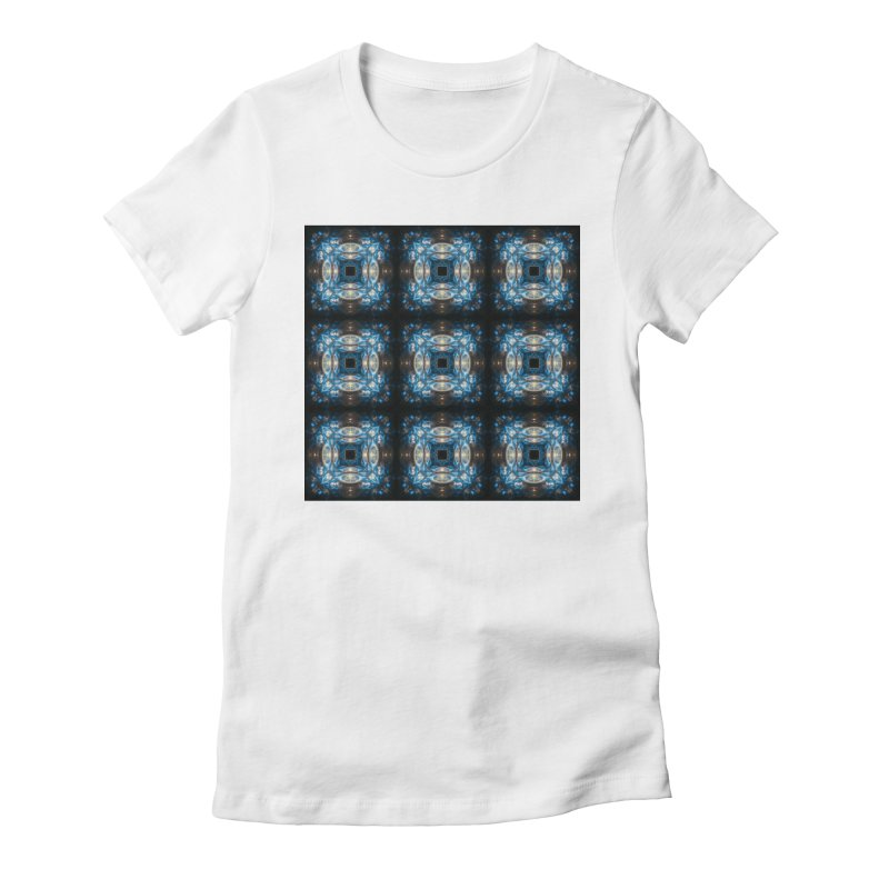 Hyperdrive Women's Fitted T-Shirt by pixeldelta's Artist Shop