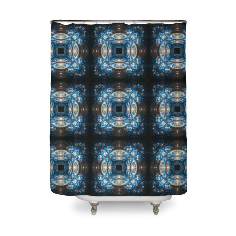 Hyperdrive Home Shower Curtain by pixeldelta's Artist Shop