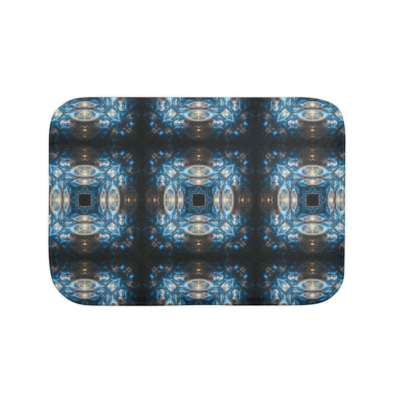 Hyperdrive Home Bath Mat by pixeldelta's Artist Shop