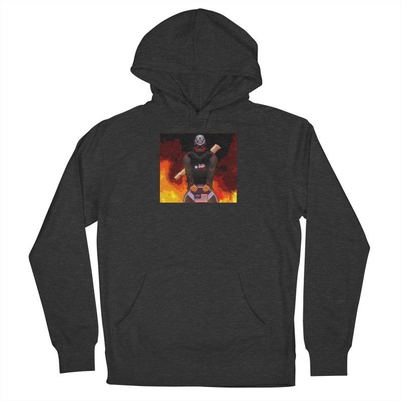 Based Stickman Pixel Art Women's Pullover Hoody by Pixel Panzers's Merchandise