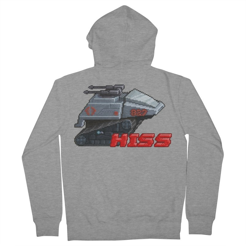 Pixel Art Hiss Vehicle Women's French Terry Zip-Up Hoody by Pixel Panzers's Merchandise