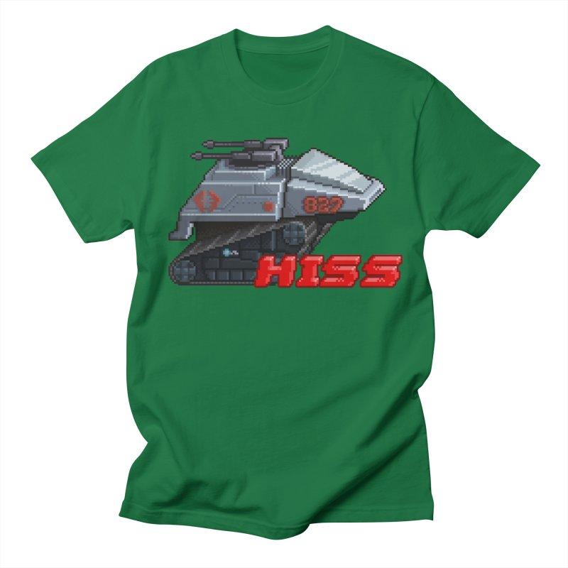 Pixel Art Hiss Vehicle Women's Regular Unisex T-Shirt by Pixel Panzers's Merchandise