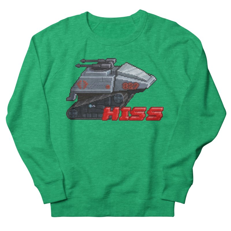 Pixel Art Hiss Vehicle Women's French Terry Sweatshirt by Pixel Panzers's Merchandise