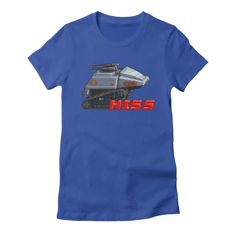 Pixel Art Hiss Vehicle Women's Fitted T-Shirt by Pixel Panzers's Merchandise