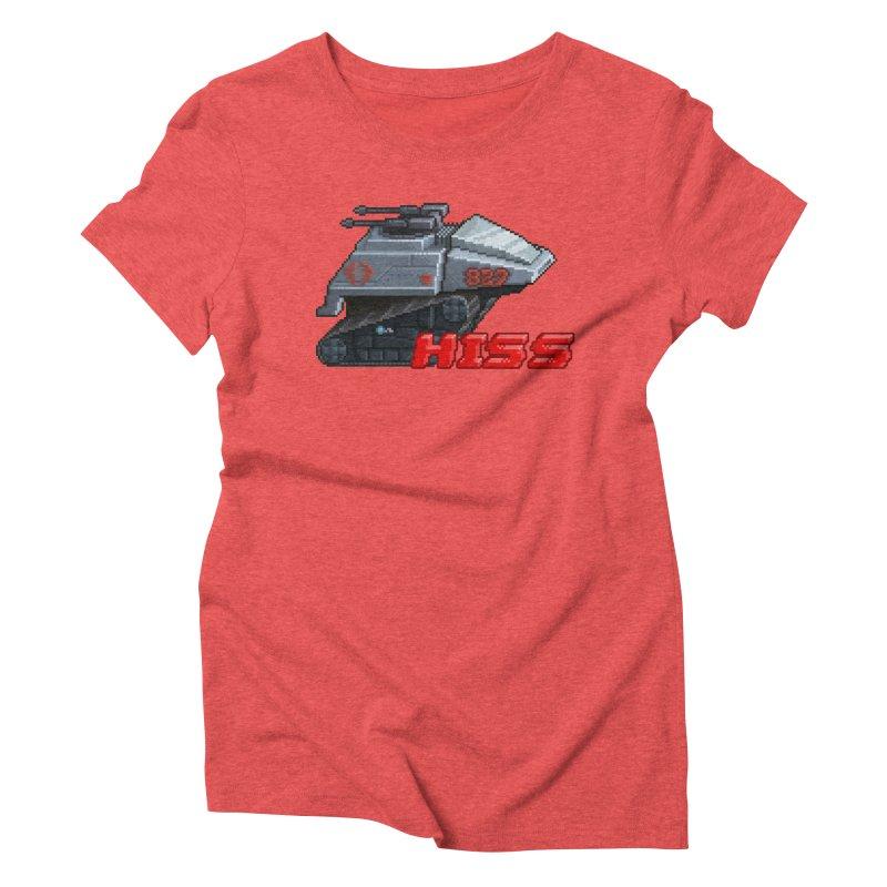 Pixel Art Hiss Vehicle Women's Triblend T-Shirt by Pixel Panzers's Merchandise