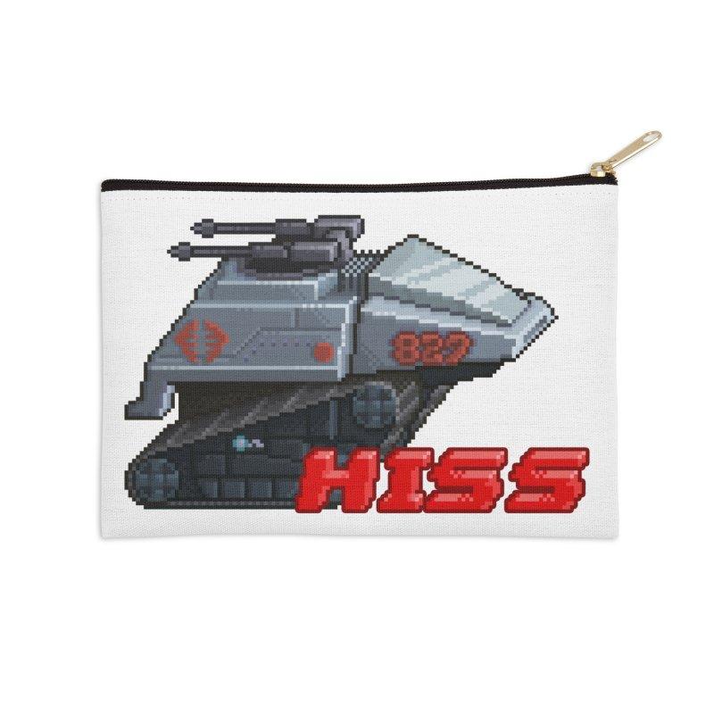 Pixel Art Hiss Vehicle Accessories Zip Pouch by Pixel Panzers's Merchandise