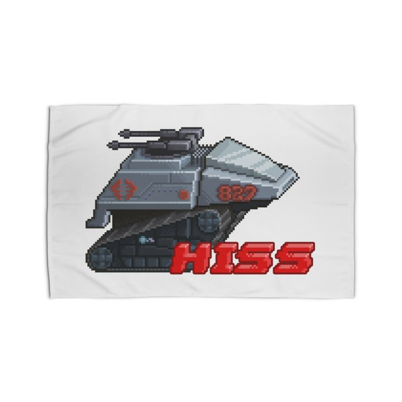 Pixel Art Hiss Vehicle Home Rug by Pixel Panzers's Merchandise