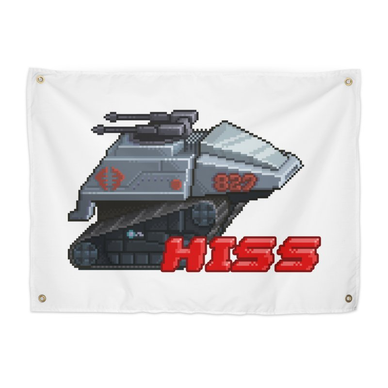 Pixel Art Hiss Vehicle Home Tapestry by Pixel Panzers's Merchandise