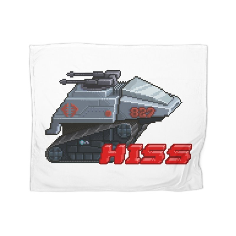 Pixel Art Hiss Vehicle Home Blanket by Pixel Panzers's Merch Emporium