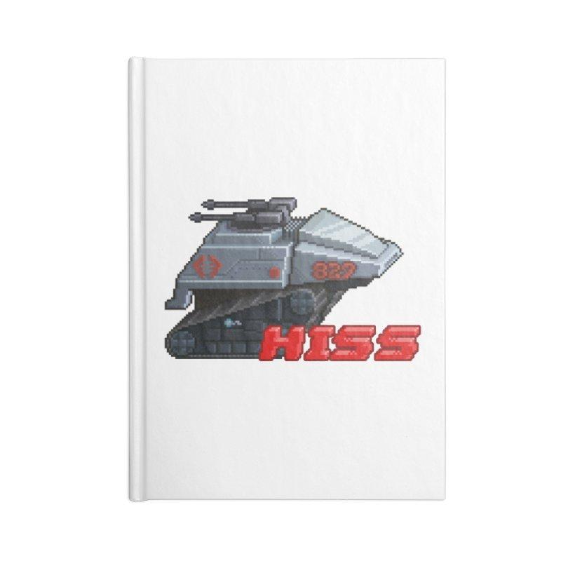 Pixel Art Hiss Vehicle Accessories Notebook by Pixel Panzers's Merchandise