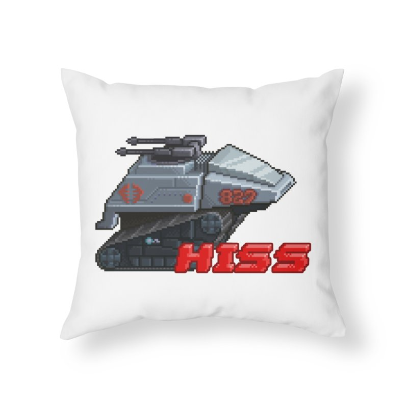 Pixel Art Hiss Vehicle Home Throw Pillow by Pixel Panzers's Merchandise