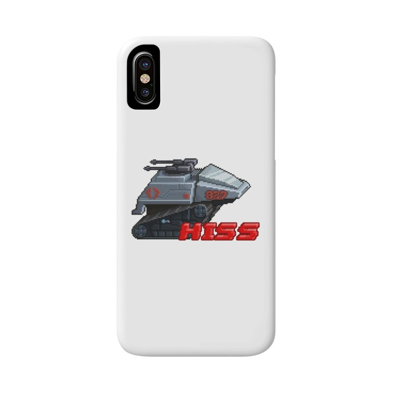 Pixel Art Hiss Vehicle Accessories Phone Case by Pixel Panzers's Merchandise