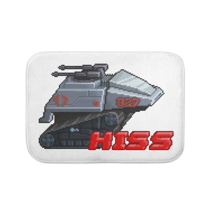 Pixel Art Hiss Vehicle Home Bath Mat by Pixel Panzers's Merch Emporium
