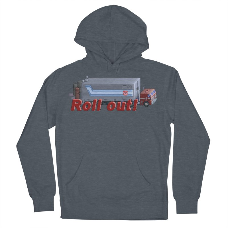Transform and Roll out! Women's French Terry Pullover Hoody by Pixel Panzers's Merchandise